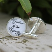 Father of the Groom Wedding Cufflinks