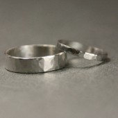 His & Hers Ring Set in Sterling Silver