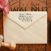 Calligraphy Return Address