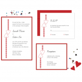 Wedding Invitation Suite: Passion