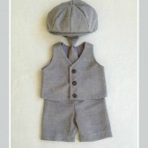 Heather Gray Newsboy Suit