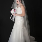 130 Inch Drop Wedding Veil