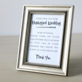 Printable Unplugged Wedding Sign for Harry Potter Wedding