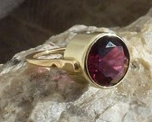 Timeless Pink Tourmaline Ring Diamond Accents