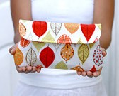 Autumn Leaf Clutch