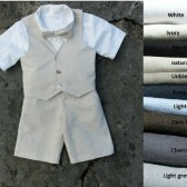 Ring bearer short set