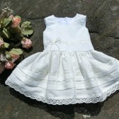 Baby beach flower girl dress