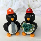 penguin cake topper, love bird cake topper, custom cake topper, baseball cake topper, baseball wedding