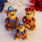 monkey cake topper, patriotic cake topper, wedding cake topper, animal cake topper, cute cake topper, custom cake topper, hand made cake topper, cake topper with baby