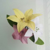 Handmade Lily bouquet