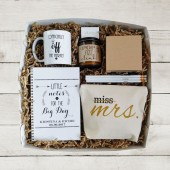 future mrs gift, newly engaged gift, bride to be gift, git box