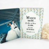 Wedding Gift - Photo Panel - Photo Stand - Quote Display - Photo Panel with Verse - Wedding Photo Keepsake - Photo Gift - Quote Gift