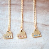 Name Necklaces for Bridesmaids