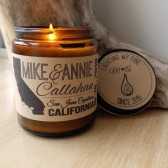 custom candle, wedding candle