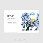 RSVP Printable Personalized Wedding Invitation Suite