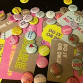 25 Buttons + Dare Cards Bach Party Pack