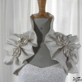 Bridal Pleated Stole Shoulder wrap