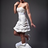 MONT BLANC Transformable wedding dress