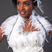 Feather Bridal Bolero Shrug