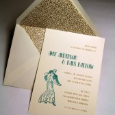 Deco Dance Invitation Set