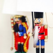 Nutcracker place card Holder
