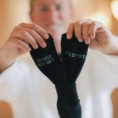 Grooms Socks IN CASE YOU GET COLD FEET