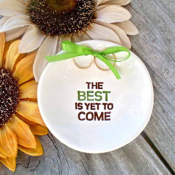 Ring Bearer Text Bowl (by Say Your Piece via Emmaline Bride - The Marketplace EmmalineBride.com/marketplace/