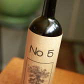 Wine Sleeve Table Number