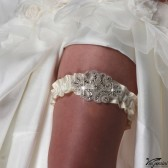 Luxury Keepsake Wedding Garter