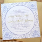 Vintage Blooms Wedding Invitations