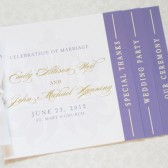 Lilac and Gold Programs