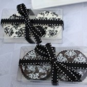 Chocolate Covered Oreo (Two) Party Favor in Clear Box