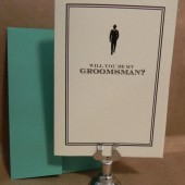 Will you be My Groomsman / Wedding / Greeting / Thank You Darby Cards Custom Printed Card