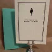Will you be My Best Man / Wedding / Greeting / Thank You Darby Cards Custom Printed Card