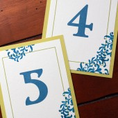 Garden Flourish Table Numbers