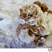 Handmade bridal bouquet