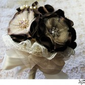 Champagne Cocolat wedding bouquet