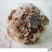 GOLDEN CHAMPAGNE Wedding Bridal Bouquet