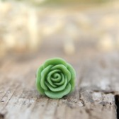 Apple Green Rose Ring