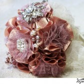 DUSTY PINK Wedding Bridal Bouquet