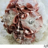 DUSTY ROSE Brooch Bouquet