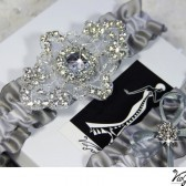 Luxury Wedding Garter Set