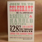 Country Hatch Poster Southern Save the Date / Wedding / Birthday / Rehearsal Dinner / Party / Custom Printed Darby Cards Invitation