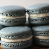 Earl Grey Tea and Lemon Zest White Chocolate Ganache French Macaron