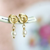 Petite Pearl Earrings