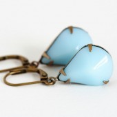 Aqua Jewel Earrings