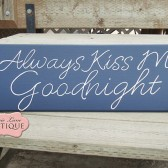 Always Kiss Me Goodnight