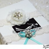 Lace Wedding Garter Set