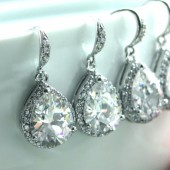 Bridesmaid Set Wedding earrings