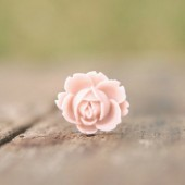 Pale Pink Rose Ring